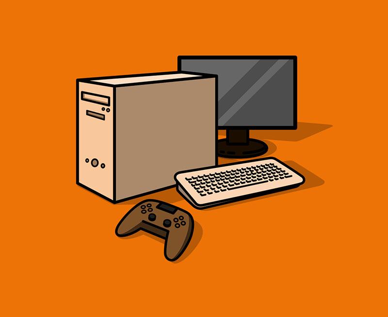 Computerspiele für ältere Computer